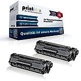 2x Alternative Tonerkartuschen für Canon I-Sensys Fax L 100 L 120 L 140 L 160 MF 4000 MF 4010 MF 4018 Black XXL Doppelpack - Toner Büro Serie