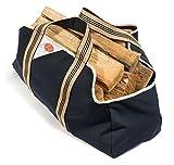 Firecorner – Kaminholztasche, Holzkorb, Tragetasche für Brennholz oder Kaminholz mit breiten bequemen Griffen