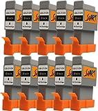 Start - 10 Ersatz Patronen kompatibel zu BCI-21 / BCI-24, Schwarz für Canon Pixma iP1000, iP1500, iP2000, MP110, MP130, MP390, i250, i255, i320, i350, i355, i450, i455, i470D, i475D, Smartbase MP360, MP370, MP375R, MP390, MPC190, MPC200, Pixus 320i, 455i, 475PD, MP10, MP360, MP370, MP375R, MP390, MP5, imageClass MPC190, MPC200, S200, S210, S300, S330, S330 Photo, Multipass F20, MP360, MP370