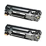 2 Toner kompatibel für Canon EP22 LBP 1110 1120 250 350 I-Sensys LBP 800 810 Lasershot LBP 1120 1100 Series 1110 SE 22 X 5585 I P 420-1550A003 - Schwarz je 2500 Seiten