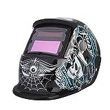 Automatik Schweißhelm,Solar Automatik Leopard-Schweißmaske Schutzhelm 9 13 Maske Automatische Verdunkelung Energie Schweißhelm