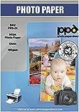 PPD 50 Blatt x A4 Inkjet 180 g/m2 Fotopapier Hochglänzend, Sofort Trocken und Wasserfest - Speziell entwickelt für alle Tintenstrahl-/Inkjetdrucker - auch bei älteren Druckermodellen keine Probleme mit Papiereinzug - echtes Premium Qualitätspapier - PPD-24-50