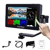 Feelworld F6 Plus 5.5 Zoll DSLR Kamera Field Monitor Touch Screen HDR 3D Lut Wellenform Small Full...