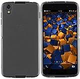 mumbi Hülle kompatibel mit BlackBerry DTEK50 Handy Case Handyhülle, transparent schwarz, transp. schwarz
