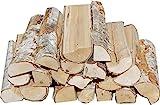 Hoyo Technology GmbH 30 kg Birke frisch Kaminholz Brennholz Feuerholz Grillholz