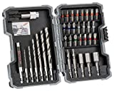 Bosch Professional 35tlg. Holzbohrer- und Bit-Set