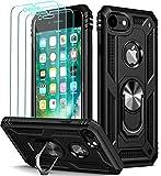 ivoler für iPhone 8 / iPhone 7 / iPhone 6s / iPhone 6 Hülle mit [Panzerglas Schutzfolie *3],...