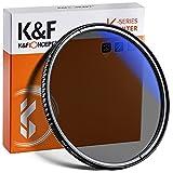 K&F Concept Pro 58mm Slim Zirkularer Polfilter Polarisationsfilter CPL Filter Cirkular Polfilter Optisches Glas & Aluminium für Foto-Kameraobjektive