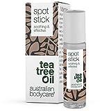 Australian Bodycare Spot Stick   Pickelstift mit Teebaumöl   Tea Tree Oil Anti Pickel Stift   Auch zur Pflege bei Akne   100% Vegan   zum Pickel loswerden & nach ausdrücken   9ml