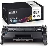 LEMERO Kompatibel Toner für Canon 057 für Canon i-SENSYS LBP223dw 226dw 228x MF443dw 445dw 446X 449X Drucker