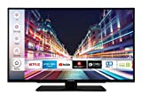 Techwood F39T52C 98 cm (39 Zoll) Fernseher (Full HD, Triple-Tuner, Smart TV, Prime Video, Works with...