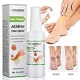 Fußpilz Spray, Fußspray, Athlete Foot Spray, Die effizient Juckreiz und Entzündungen an den Füßen steuern, kuriert und verhindert Pilzinfektionen, Bei Fußpilz, Fußschweiß und Fußgeruch
