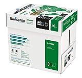 NAVIGATOR A4 UNIVERSAL; Druck- und Kopierpapier; A4; 5x500 Blatt; 80g (frustfreie Schutzverpackung)