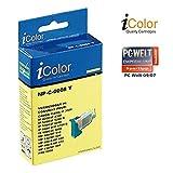 iColor Pixma IP 5200 R, Canon: Patrone für Canon (ersetzt CLI-8Y), ohne CHIP Yellow (Pixma MP 520 X, Canon)