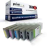 5X Print-Klex Tintenpatronen kompatibel für Canon imagePROGRAF IPF 500 IPF 510 IPF 600 IPF 605 IPF 610 IPF 650 IPF 655 IPF 700 IPF 710 IPF 720 IPF 750 IPF 755 IPF 760 IPF 765 PFI 102 PFI102