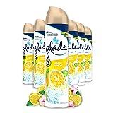 Glade (Brise) Duftspray, Lufterfrischer Raumspray, Frische Limone, 6er Pack (6 x 300 ml)
