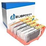 Bubprint Kompatibel Druckerpatronen als Ersatz für Canon PGI-520 CLI-521 für Pixma IP3600 IP4600 IP4700 MP540 MP550 MP560 MP620 MP630 MP640 MP980 MX860 MX870 5er-Pack