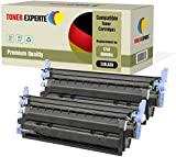 2er Pack TONER EXPERTE® Schwarz Premium Toner kompatibel zu HP Q6000A 124A für HP Color Laserjet 1600 1600n 2600 2600n 2600dn 2605 2605d 2605dn 2605dtn CM1015 CM1017 MFP