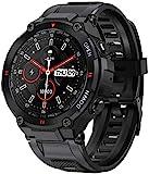 ANSUNG Smartwatch Herren Fitness Tracker wasserdicht,Bluetooth-Anruf,voller Touchscreen Stoppuhr...