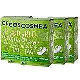 Cosmea Bio-Slipeinlagen Normal, ohne Duft, Vorteilspack (5 x 33 Stk). Hygiene-Einlagen aus Bio-Baumwolle. Damen-Hygiene im Einklang mit der Natur