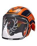 Protos Integral Forest Kopfschutz-Kombination, KOX Edition Orange/Blau