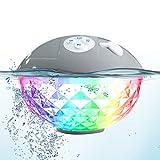 Bluetooth Lautsprecher,Uekars Dusche Lautsprecher Bluetooth 4.2 Wireless Speaker Tragbarer IPX7...