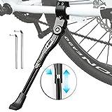 BIFY Fahrradständer aus Aluminiumlegierung für 24-28 Zoll, Rutschfester Gummiständer, höhenverstellbar