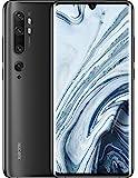 Xiaomi Mi Note 10 Smartphone (16,43cm (6,47') 3D Curved AMOLED FHD+ Display, 128GB interner Speicher + 6GB RAM, 108MP KI-Penta-Rückkamera, 32MP Selfie-Frontkamera, Dual-SIM, Android 9) Midnight Black