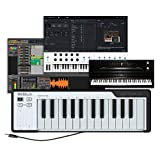 Arturia MicroLab Schwarz – Kompakte 25er USB-Controller-Tastatur