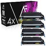 4 Toner kompatibel zu Canon CEXV26 für Canon Imagerunner C1021i, C1021iF, C1022i, C1028iF, C1000 Series - Schwarz 6.000 Seiten, Color je 6.000 Seiten