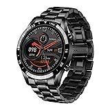 LGE Smart Watch, 1,3' Zoll Touchscreen Bluetooth Anrufen Voice Chat Fitness Tracker mit Herzfrequenz...