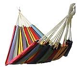 Kronenburg Hängematte Mehrpersonen 210 x 150 cm, Belastbarkeit bis 300 kg - Rot - Farb- und Modellwahl