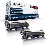 2X Print-Klex Tonerkartuschen kompatibel für Brother MFC-L 2710 DN MFC-L 2710 DW MFC-L 2712 DN MFC-L 2712 DW TN 2420 TN-2420 TN2420 Black Schwarz - Office Print Serie