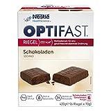OPTIFAST KONZEPT Diät Riegel Schokolade zum Abnehmen | eiweißreicher Mahlzeitenersatz zum Gewichtsmanagement | leckerer Geschmack kombiniert mit wichtigen Vitaminen und Mineralstoffen | 6 x 70g