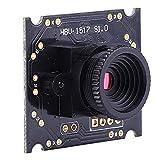 Keenso Kameramodul HBV-1714-2 USB mit Kamera 1,3 Millionen Pixel 60 ° HD-Weitwinkelobjektiv-USB-Kamera mit OV9750-Chip für industrielle Anwendungen