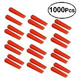 OUNONA 1000Pcs Fliesenkeile Kunststoff für Professionelle Fliesenverlegung Nivelliersystem für Kleine Bodenfliesen für Wand Fliesen Abstandhalter