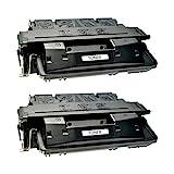 2 Toner kompatibel für Canon EP52 LBP 1750 1760 I-Sensys LBP 1760 E 1700 Series Lasershit LBO 1760 E N - 3839A003 - Schwarz je 10.000 Seiten