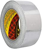3M 1436 Weichaluminium Klebeband, 50 mm x 50 m, silber, 1er Pack