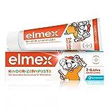 Elmex Kinder-Zahnpasta, 50 ml - Zahncreme für Kinder von 2-6 Jahren mit mildem Geschmack, der besondere Kariesschutz für Milchzähne