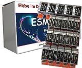 ESMOnline 20 komp. Druckerpatronen zu Canon BCI-15BK BCI-15 / 16C Bubble Jet I 70 80 Pixma IP 90 90V Mini 220 Selphy DS 700 810
