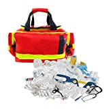 TMS PRO SHOP Erste Hilfe Tasche First Responder PROFI mit Sanitätskoffer-Füllung DIN 13155 aus Kunststoff