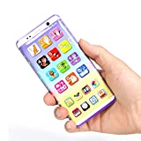 Kinder Handy Spielzeug, Multi Funktions ABS Smartphone Lernen Spielzeug Für Baby Kleinkinder,14 Modi / 38 Verschiedene Funktionen