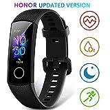 Honor Band 5 wasserdichter Bluetooth Fitness Aktivitätstracker mit Herzfrequenzmesser,...
