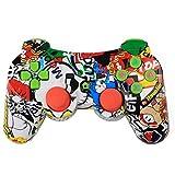 Luckiests Bluetooth Wireless Game-Controller Wireless-Joystick Gamepad für PS3 Videospiele Griff...