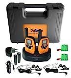 DeTeWe Outdoor PMR 8000 Funkgerät 2er Set mit einer Reichweite von bis zu 9 km -tropfwasserdicht (geprüft nach IPX2 Standard)