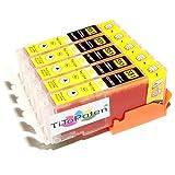 *TITOPATEN* - 5X Canon Pixma IP 7250 kompatible XL Druckerpatronen - Gelb - Patrone MIT CHIP !!!Hohe Laufleistung!!!