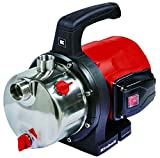 Einhell Gartenpumpe GC-GP 1250 N (1200 W, max. 5 bar, 5000 L/h Fördermenge, selbstansaugende und leistungsstarke Jet-Pumpe, INOX-Edelstahl-Pumpengehäuse)