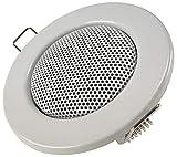 Einbaulautsprecher für Wand & Decke Mini-Lautsprecher Front 8cm Einbau 6cm LED-Strahler Optik...