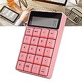 IDWT Numerische Tastatur, Kleiner Taschenrechner Intelligent 20 Tasten Multifunktions Praktisch für Unternehmen für das Büro(Wireless sk657ag keypad 657 pink)