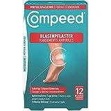 Compeed Blasenpflaster Medium Vorteilspack - Hydrokolloid-Pflaster gegen Blasen an den Fersen, 12er Pack